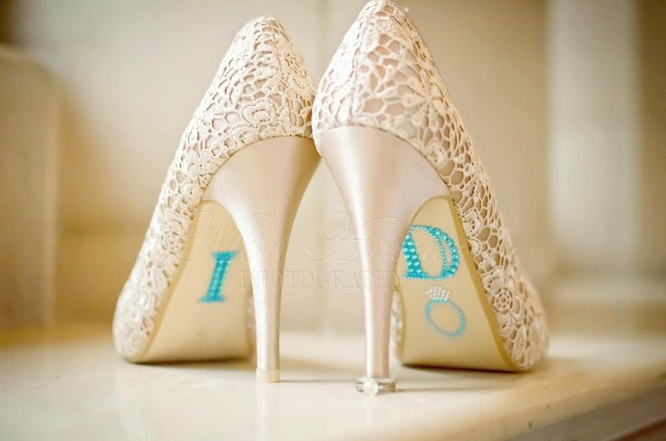 A sparkling pair of heels