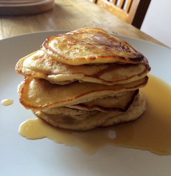 American Pancakes with Maple Syrup | Breakfast | American Pancakes