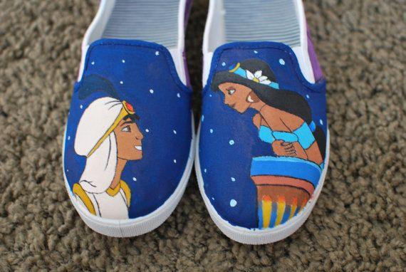 hand made Disney Shoes