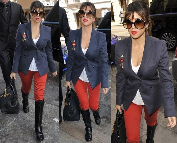 Womens Red Pants | #Fashion #Apparels