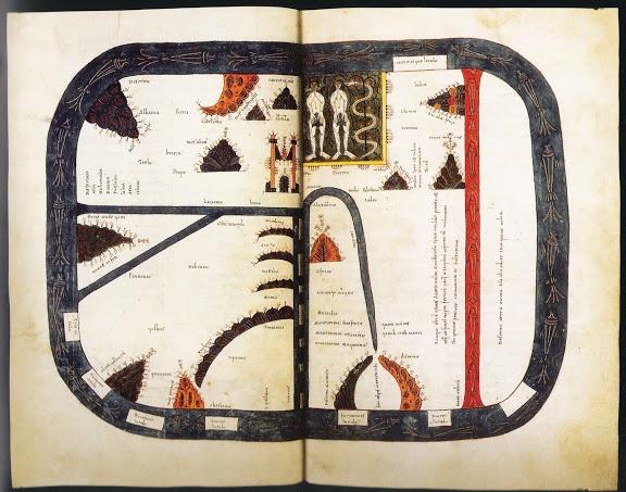 Cartografía de la Alta Edad Media | Beato de Santo Domingo de Silos.