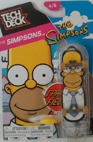 TECH DECK THE SIMPSONS HOMER 4 OF 6 by Tech Deck Tech Deck http://www.amazon.ca/dp/B00H00SEN8/ref=cm_sw_r_pi_dp_3xVRwb0S8WC5X
