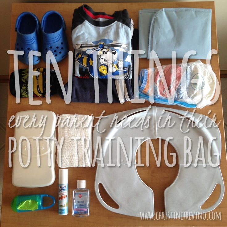Ten things Every Parent should have in their potty training bag-gonna need this very very soon
