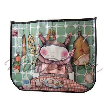 Funky Shopper Bag Barbara, Charcuterie - MiaDeRoca