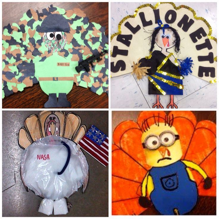 Fun take home project for your little learners. Turkeys in Disguise.
