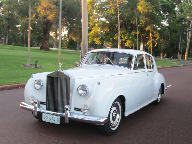 The 1960 Rolls Royce is a beautiful classic car for a school ball