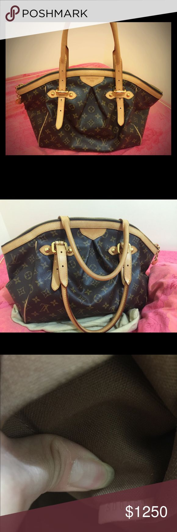 Louis Vuitton tivoli gm Second hand women purse bought it from 2009 gently used Louis Vuitton Bags Shoulder Bags