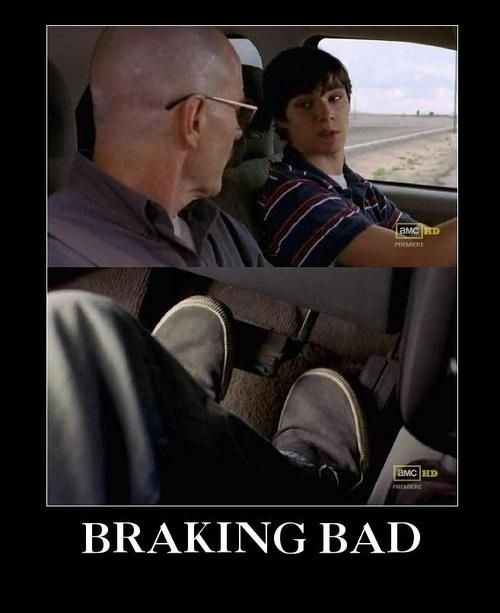 33 Breaking Bad mysteries - like... What if the show was just about Walt Jr. learning how to drive?