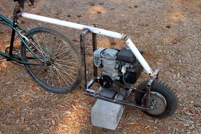 Bicycle Pusher Trailers Advrider Small Engine Pinterest
