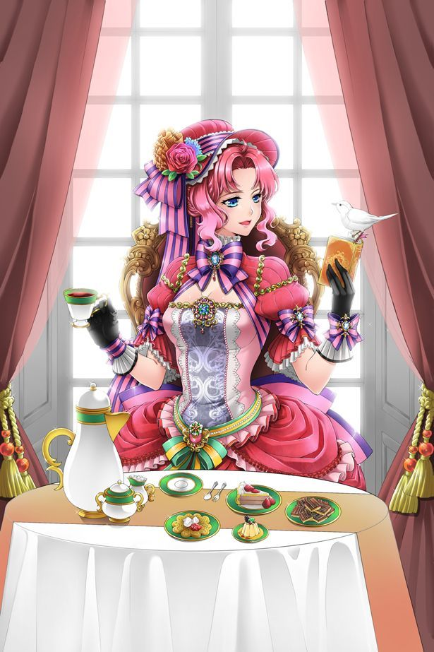 Anime_Victorian tea party. . . .victorian dress. . .formal