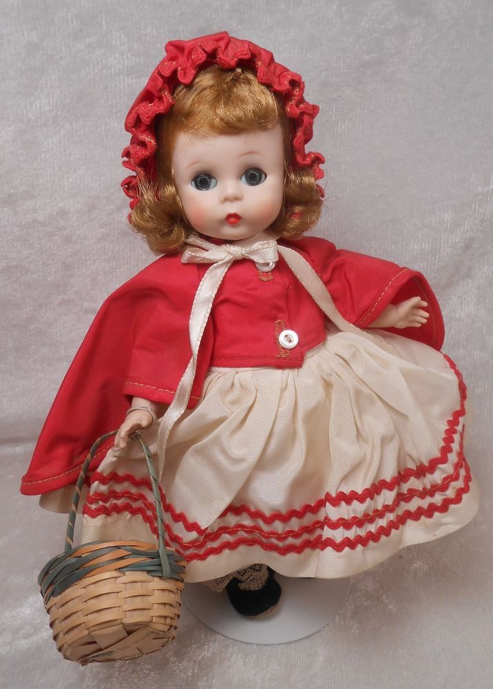 Red Riding Hood  pin by Madame Alexander New with Madame Alexander Ribbon