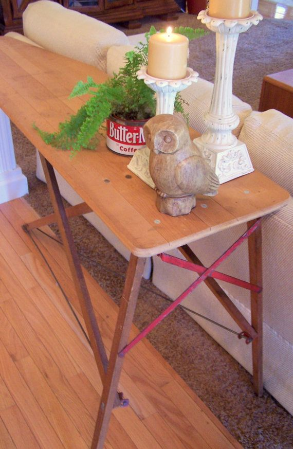 Vintage Wood Ironing Board