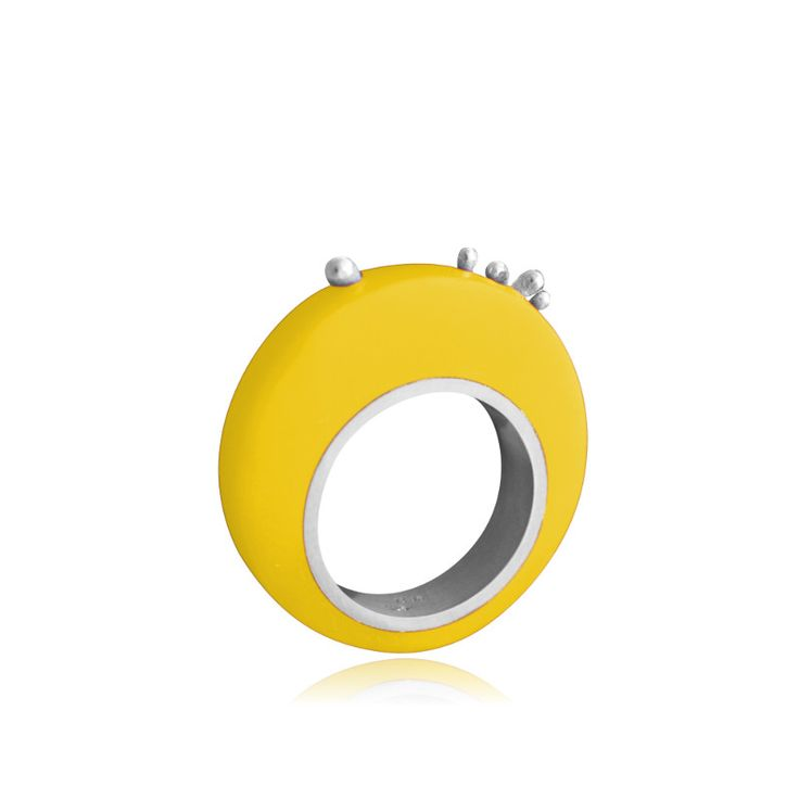 Follow Me ring (yellow)/Playful collection/ Jewelietta