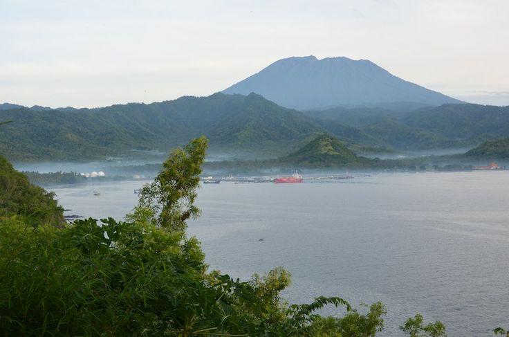 Бали - вид на вулкан Агунг