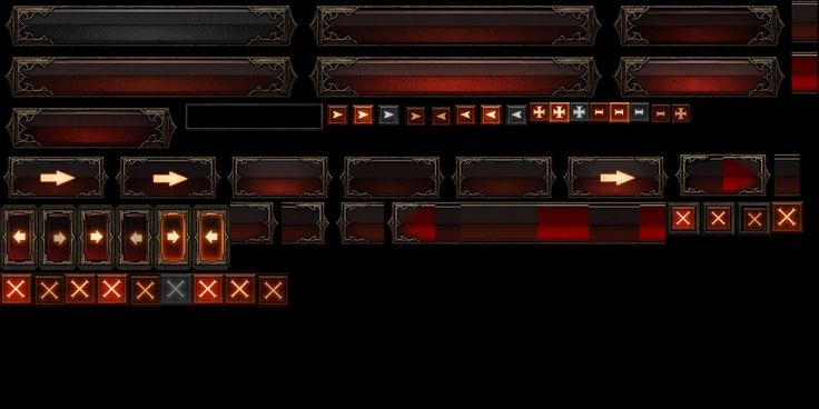 diablo-3-icons-in-game-faces-potions-elixirs game user interface gui ui | Create your own roleplaying game material w/ RPG Bard: www.rpgbard.com | Writing inspiration for Dungeons and Dragons DND D&D Pathfinder PFRPG Warhammer 40k Star Wars Shadowrun Call of Cthulhu Lord of the Rings LoTR + d20 fantasy science fiction scifi horror design | Not Trusty Sword art: click artwork for source