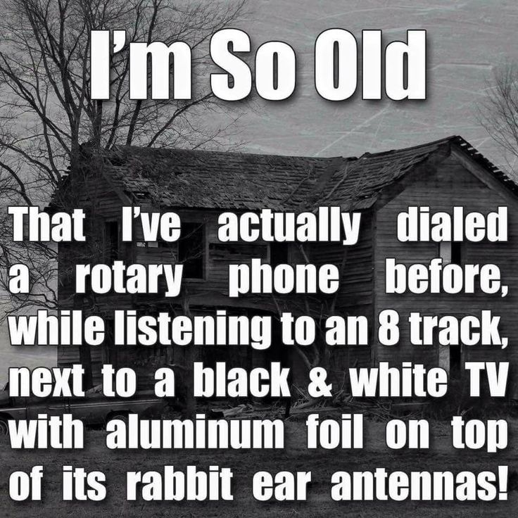 Try all that, only with hoop-n-holler crank wall phones of old, a 33 1/3 record player and the tv with either rabbit ears or the old outside antenna...that goes back even farther.  I can remember when we first  got each one of them.