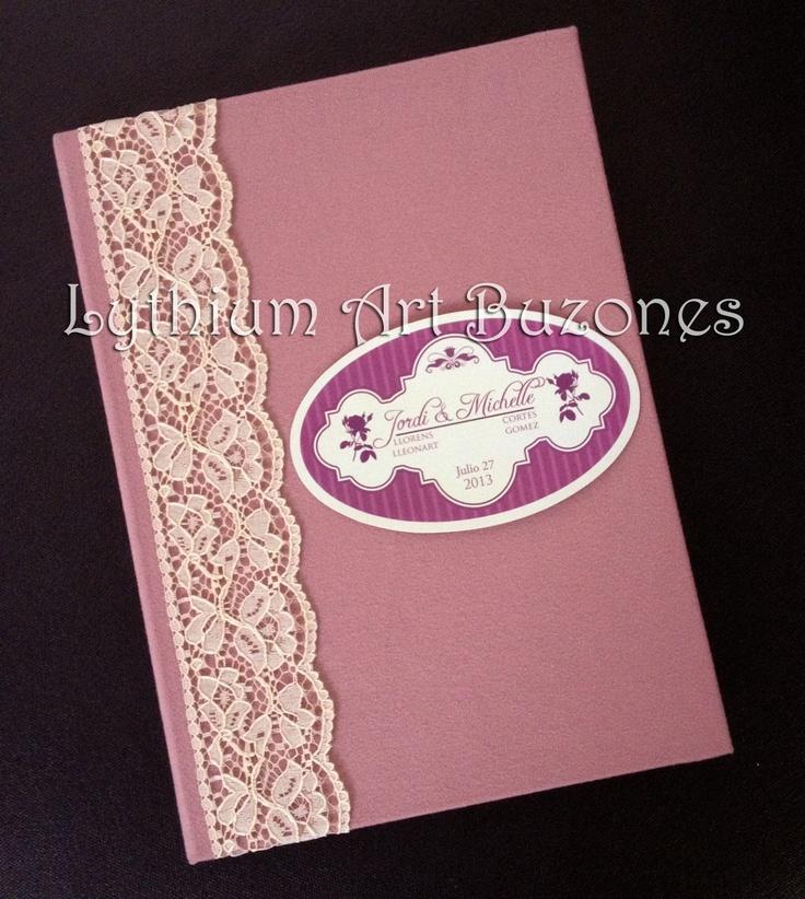 Libro de Firmas para Boda Vintage | Lythium Art®
