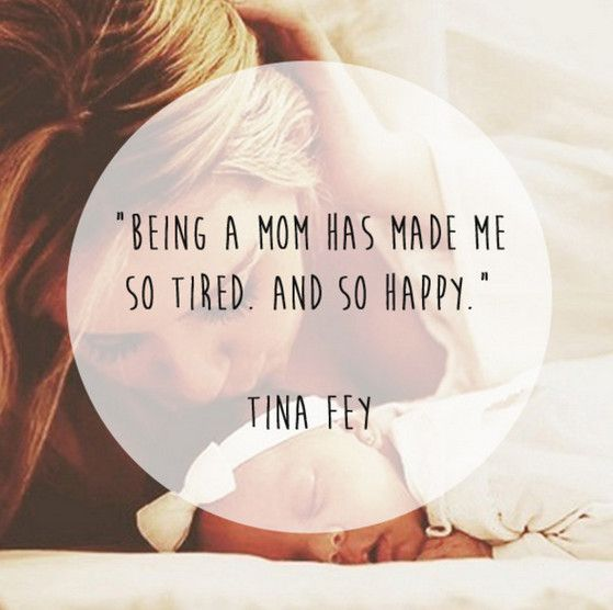 Tina Fey Quote - 50 Best Quotes About Motherhood