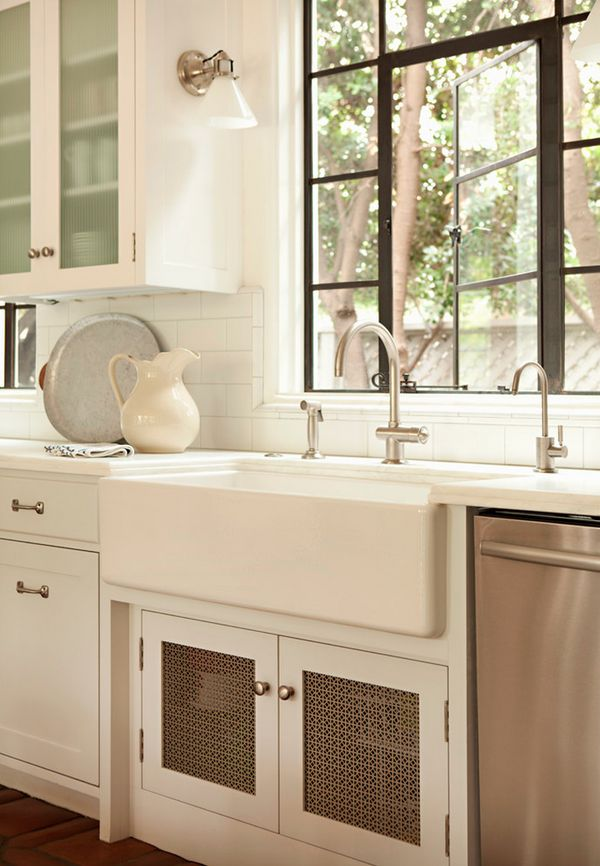 white farmhouse sink For the Home Pinterest