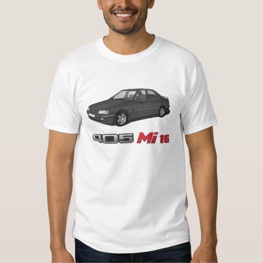 Peugeot 405 with Mi 16 red badge, black DIY  #peugeot #peugeot405 #sri #automobile, #car #t-shirt, #print #europe #france #mi16 #405mi16 #black