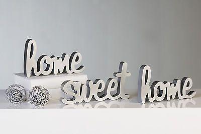 Resultado de imagen de letras home sweet home