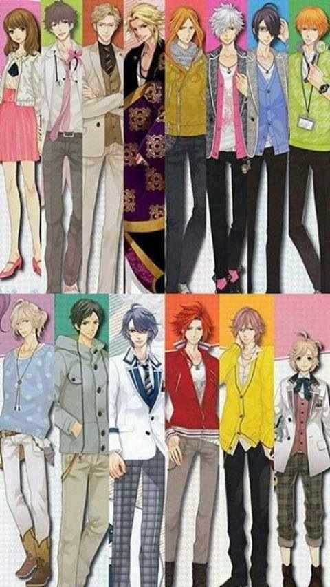Asahina Family : Ema, Masaomi, Ukyo, Kaname, Hikaru, Tsubaki, Azusa, Natsume, Louis, Subaru, Iori, Yusuke, Futo, Wataru
