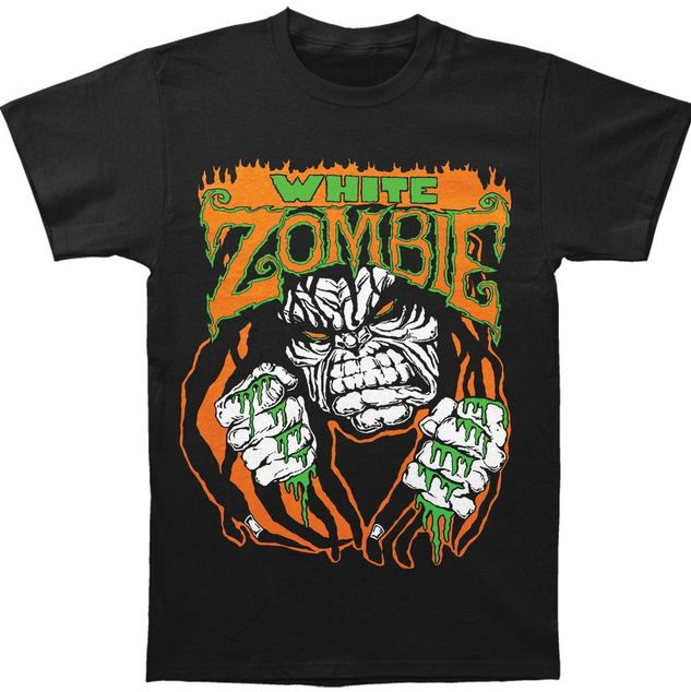 "WHITE ZOMBIE Monster Lugosi T-shirt  Make yourself ""More Human than Human"" by rocking this horrifically cool White Zombie shirt!   #whitezombie #robzombie #rockabilia #merchandise #licensedmerchandise #merch #itemoftheday #metal #rock #bands"