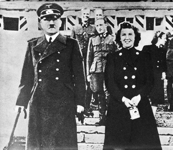 Hitler was involved with mistress Eva Braun since meeting in 1929. The day before he killed himself, he married Braun in his bunker and decided that they would also die together. Braun also killed herself at the same time as Hitler.