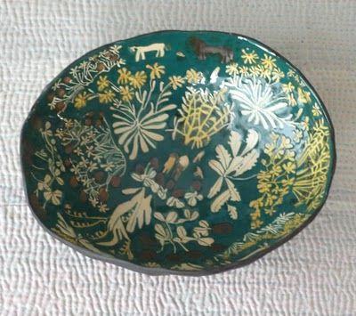bowl by laura carlin