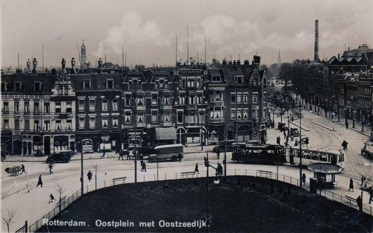 Rotterdam - Oostplein, 1930