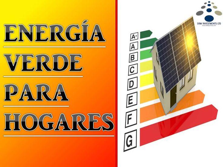 Energía verde para hogares. www.drmprefab.com