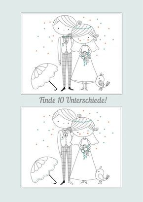 Wedding Coloring Book Printable – Free Download
