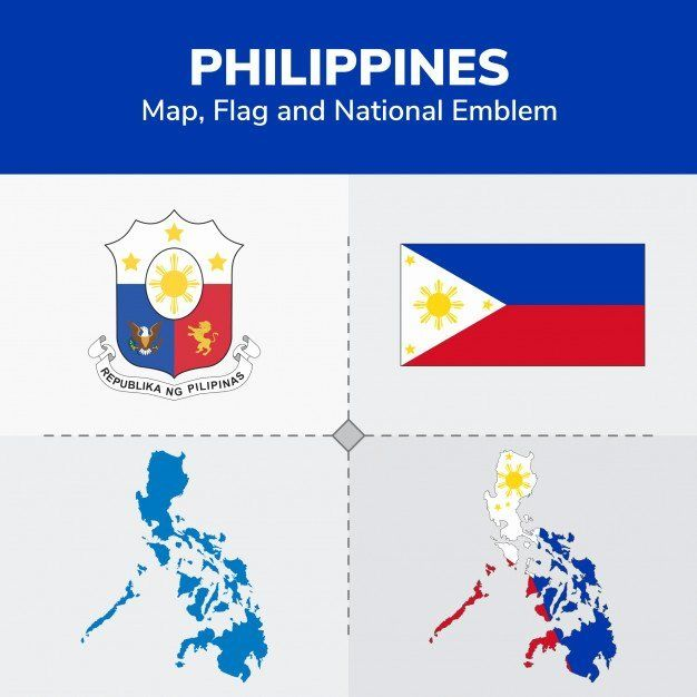 Philippine Flag Coloring Page In 2020 Philippine Map Map Flag
