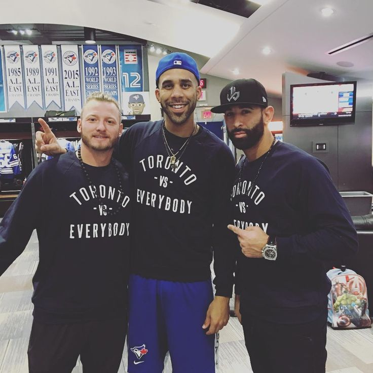 Josh Donaldson, David Price & Jose Bautista-Toronto vs. Everybody