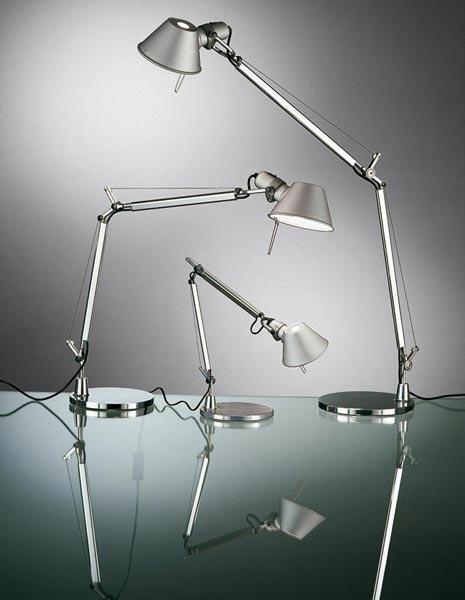 Lampade da tavolo Tolomeo di Artemide #light #design