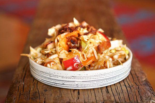 Salade de chou au bacon - Épices de cru