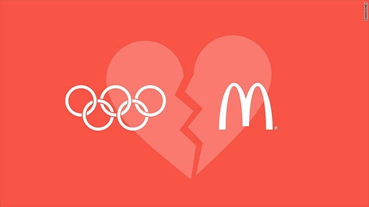 American audiences won't see any Olympics-themed McDonald's television advertisements during this year's Games and athletes will have to say goodbye to McDonald's restaurants in the Olympic Park and Village.  http://heysport.biz/index.html