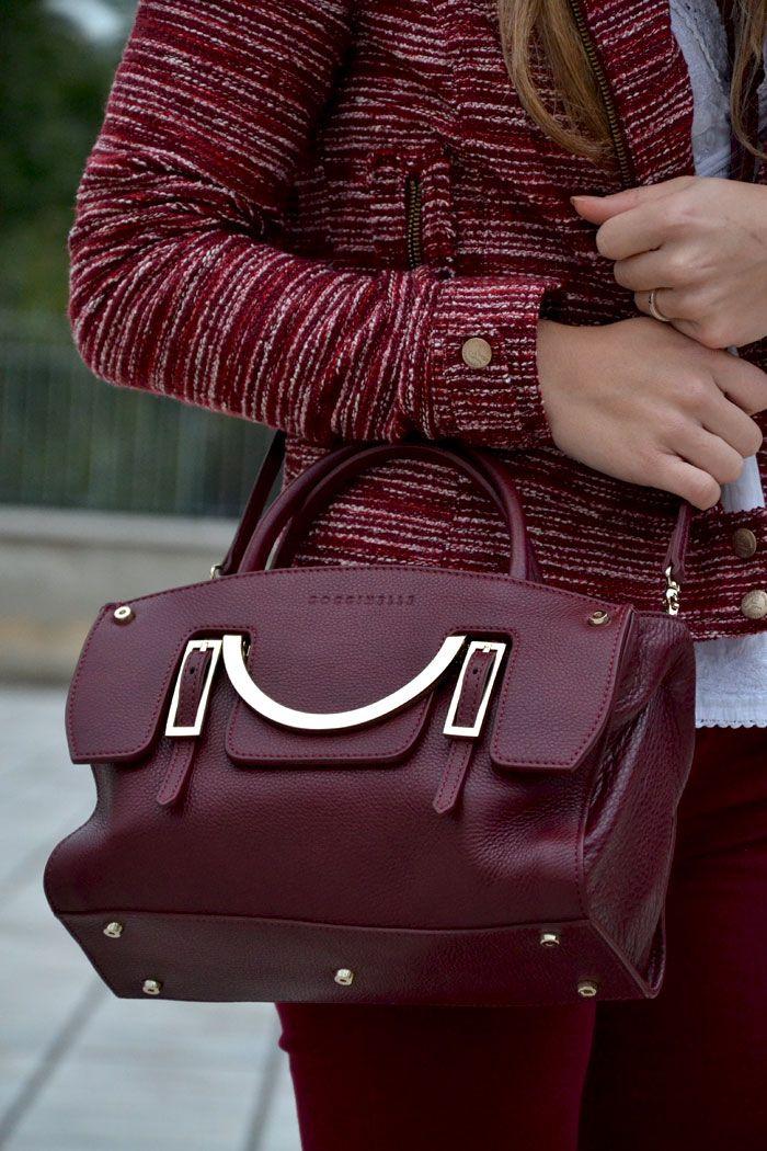 #coccinelle #bag #burgundy