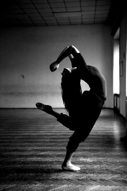 dancing inside her heart and head