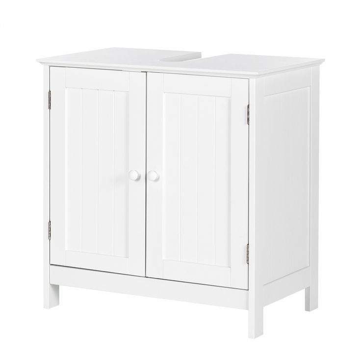 Waschbeckenunterschrank Turin - Weiß