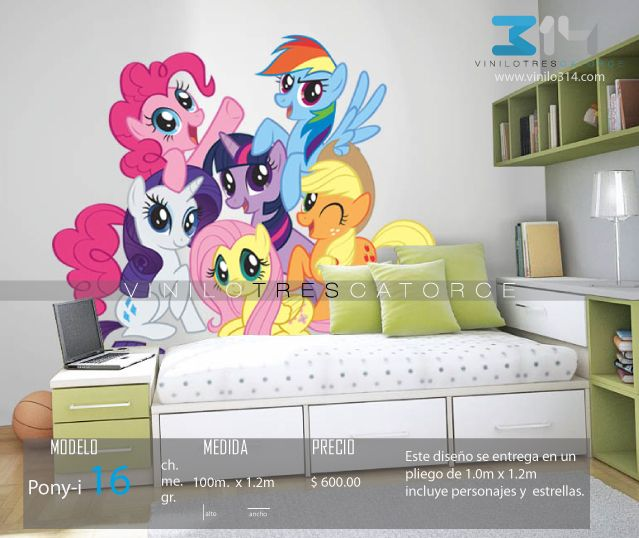 Vinilos Decorativos Infantiles My Little Pony, Part 90