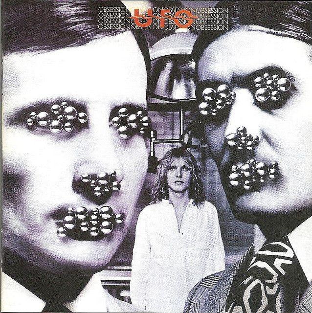 ufo the band | UFO - Obsession album cover