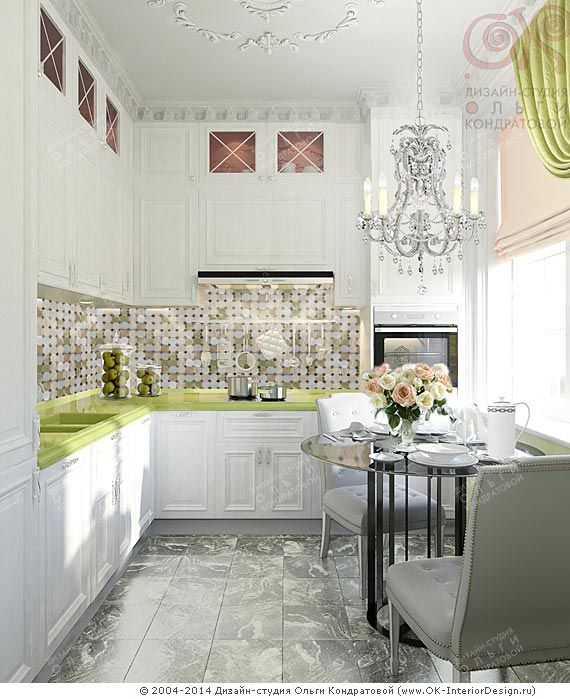 Дизайн белой кухни http://www.ok-interiordesign.ru/ph17_kitchen_interior_design.php