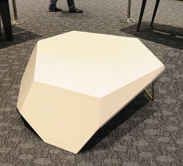 Caesarstone table.