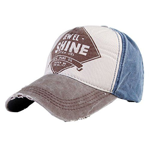 Vintage Style Adjustable Washed Denim Baseball Cap Sportive Casual Hat, Coffee  //Price: $ & FREE Shipping //     #sports #sport #active #fit #football #soccer #basketball #ball #gametime   #fun #game #games #crowd #fans #play #playing #player #field #green #grass #score   #goal #action #kick #throw #pass #win #winning