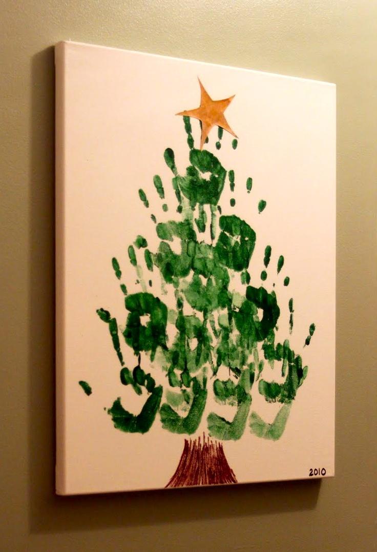 Simsbury Skirt: Handprint Christmas Tree