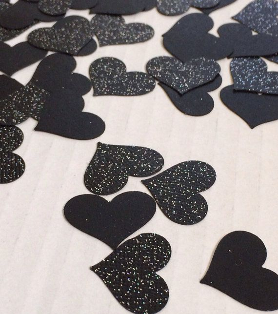 I Hate Valentine's Day Party Confetti Supply. Love Stinks. Love Sucks. 100 Count 1 inch Hearts on Etsy, $5.00