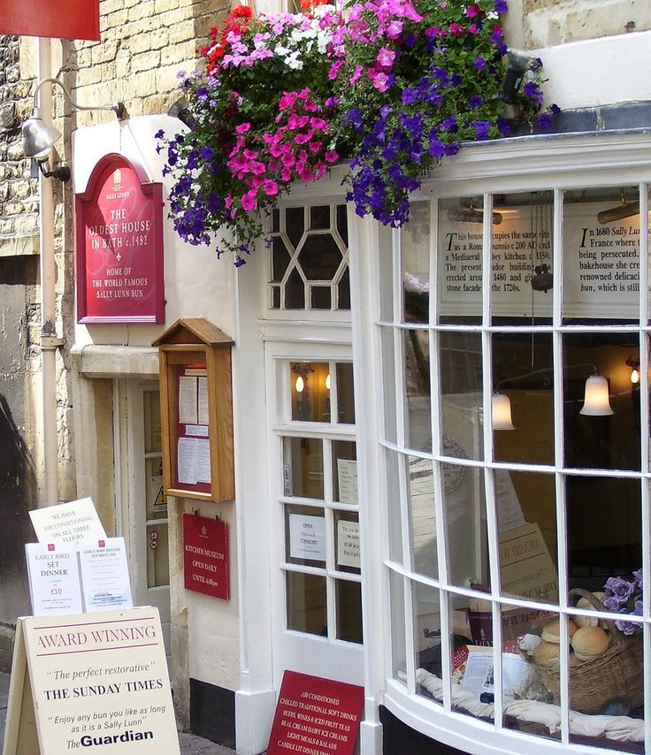 THE OLDEST HOUSE IN BATH .c.1482..Sally Lunn's, Bath | 21 Absolutely Charming Tea Rooms You Have To Visit Before You Die