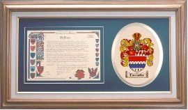 $109.99 Lancaster Family Name History and Coat of Arms / Family Crest