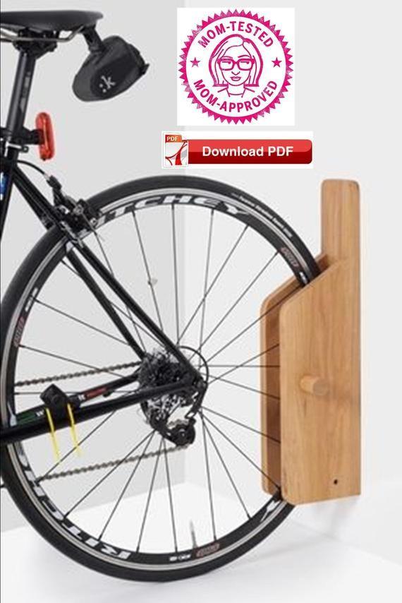 wall mount bike rack plan